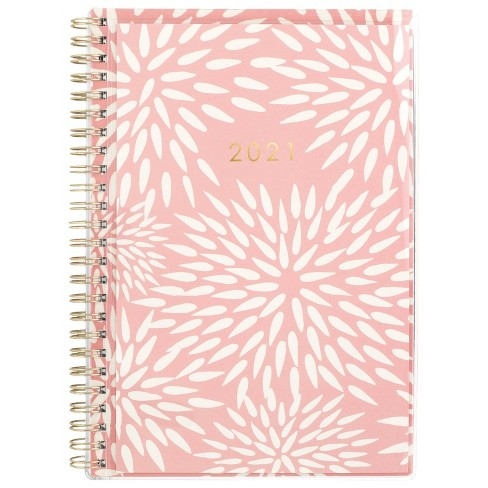 "2021 Planner 5.875"" x 8.5"" CYO Mums The Word Pink - Katie Kime - image 1 of 4"