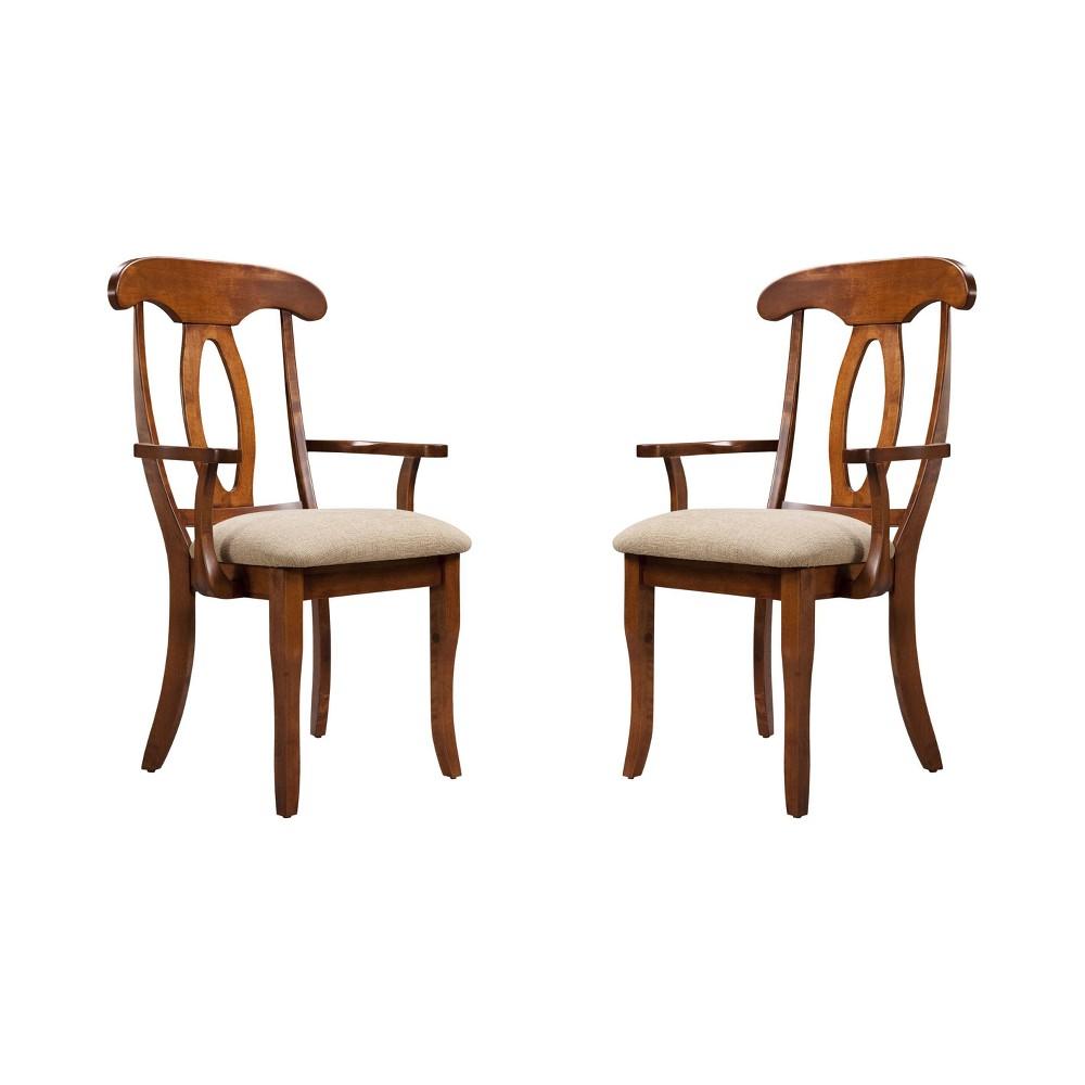 Expresso Ii Napoleon Up Seat Armchair (Set of 2) Beige - Shermag