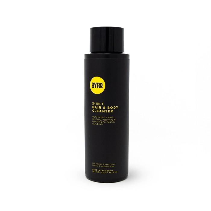 BYRD 3-in-1 Hair & Body Cleanser - 15oz - image 1 of 2