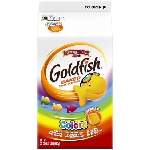 Pepperidge Farm Goldfish Colors Cheddar Crackers - 30oz - image 1 of 6