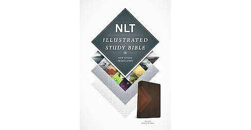 NLT Illustrated Study Bible : New Living Translation, Deluxe, Brown & Tan (Paperback) - image 1 of 1