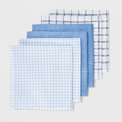 Men's 6pk Hankies and Handkerchiefs Set - Goodfellow & Co™ One Size