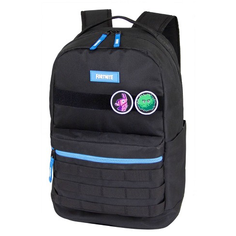 "Fortnite 18"" Spectrum Backpack - Black/Blue - image 1 of 4"