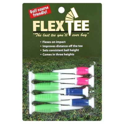 FlexTee Flexible Golf Tees Standard II 8pk