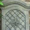 "31""H Rosette Leaf Outdoor Electric Wall Fountain - Limestone Finish - Sunnydaze Decor - image 2 of 4"