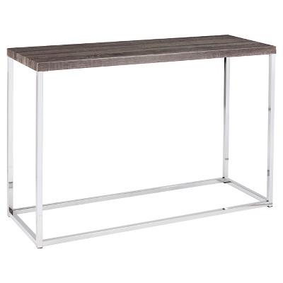 Meadow Console Table - Gray - Aiden Lane