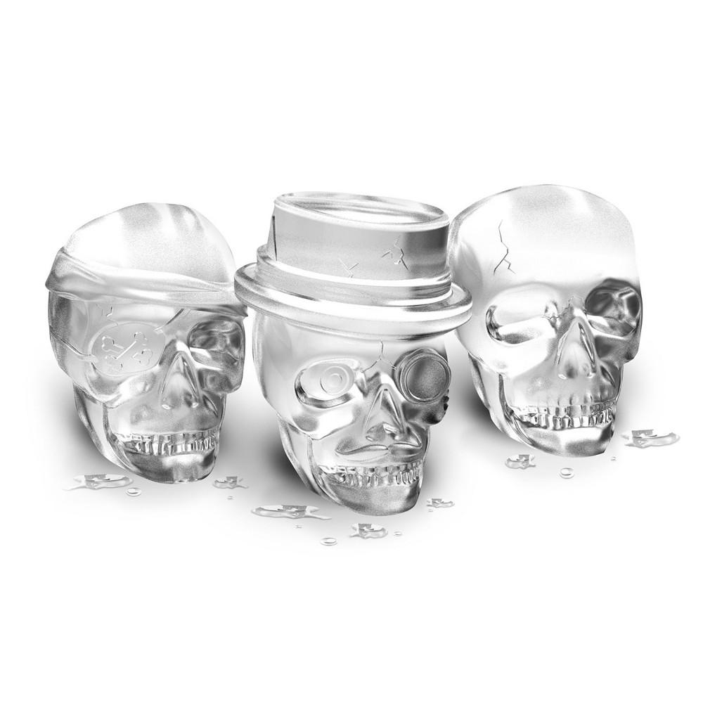 Tovolo Ice Mold Skull Gray, Black