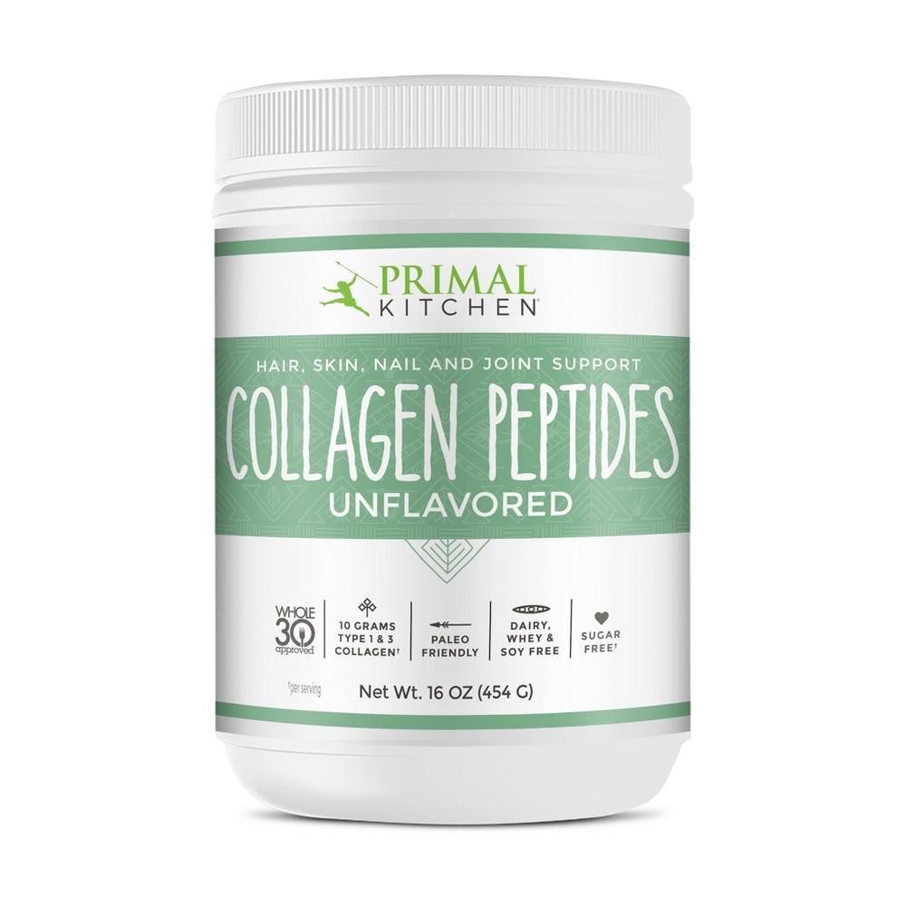 Primal Kitchen Grass Fed Collagen Peptides Supplement Pow...