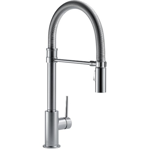 Delta Kitchen Faucets.Delta Faucet 9659 Dst Trinsic Pro Pre Rinse Pull Down Kitchen