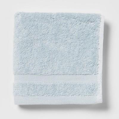 Solid Washcloth Aqua - Made By Design™