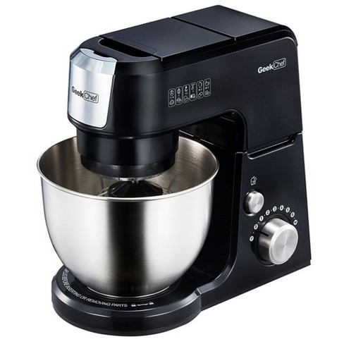 Geek Chef GM25B 2.6 Quart 7 Speed Tilt Head Stand Mixer with Attachments, Black - image 1 of 1