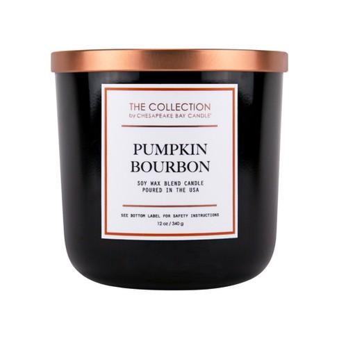 12oz Core Jar 2-Wick Candle Pumpkin Bourbon - Chesapeake Bay Candle - image 1 of 2