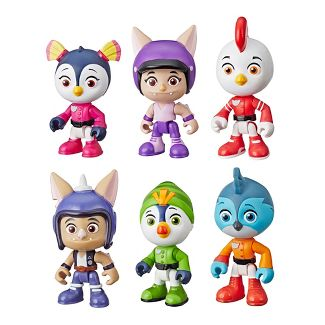 Nickelodeon Top Wing 6-Character Collection Pack