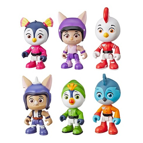 Nickelodeon Top Wing 6-Character Collection Pack - image 1 of 2