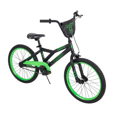 "Huffy Decay 20"" Kids' Bike - Black/Neon Green"