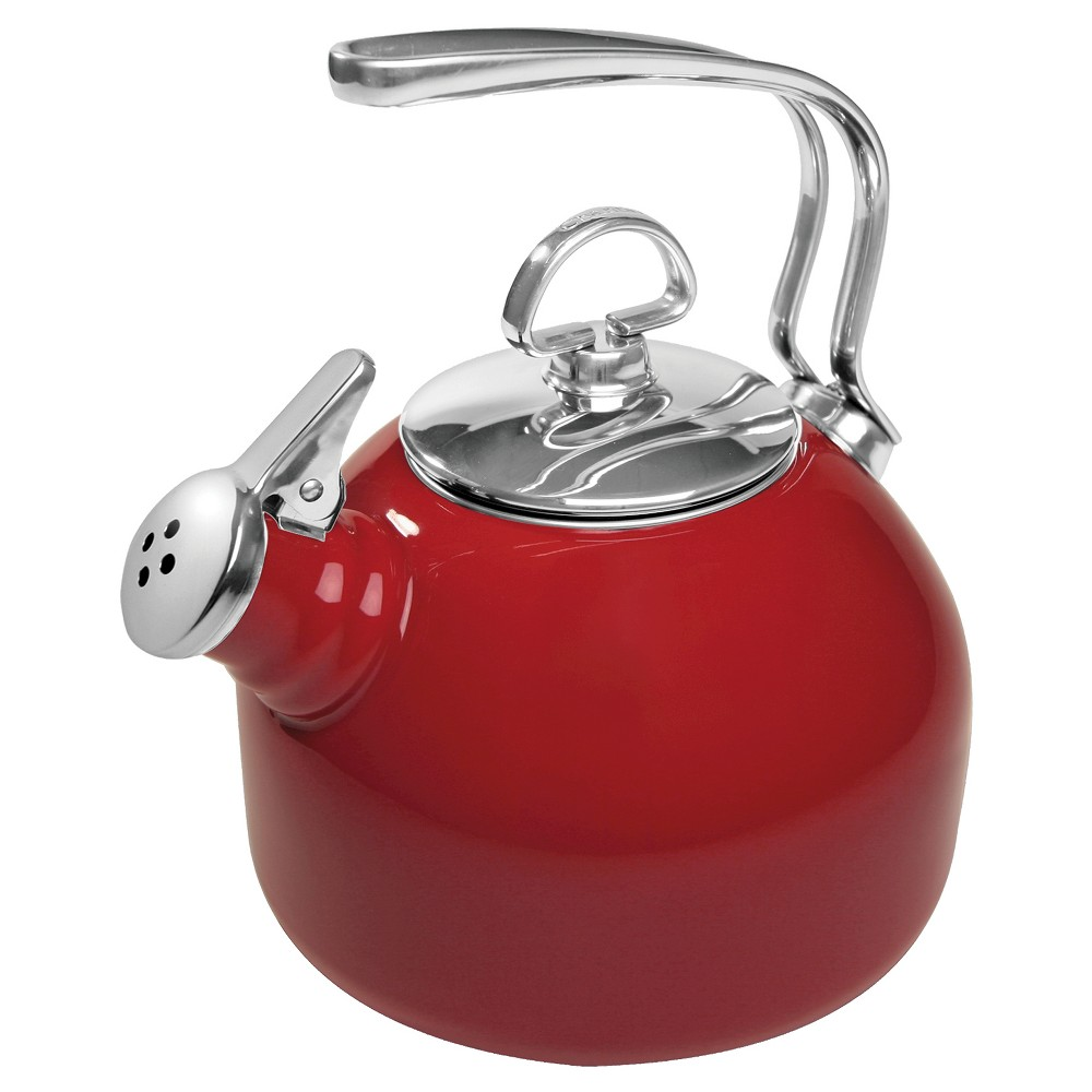 Image of Chantal 1.8 Oz.Classic Tea Kettle - Red