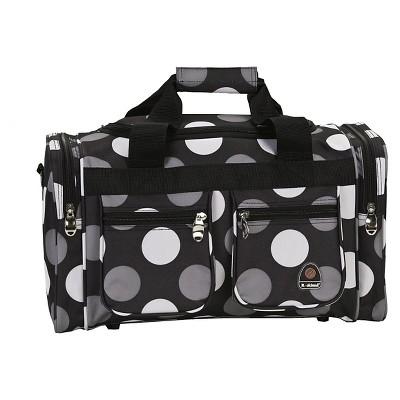 Rockland 19  Duffel Bag - New Black Dot
