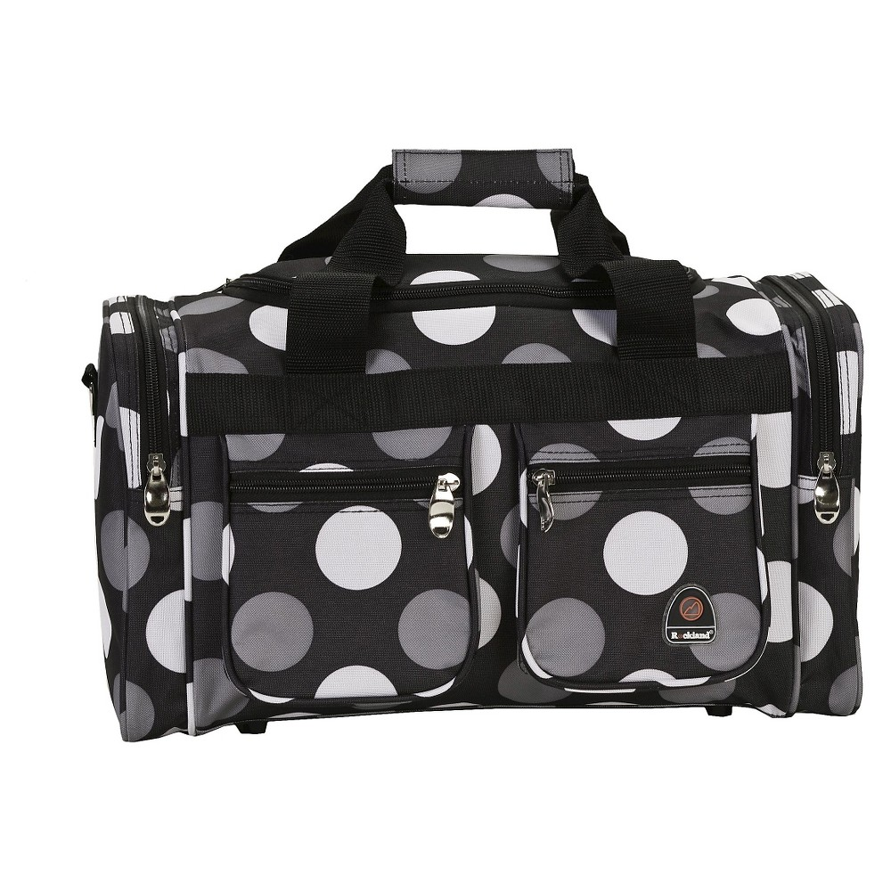 Rockland 19 Duffel Bag - New Black Dot