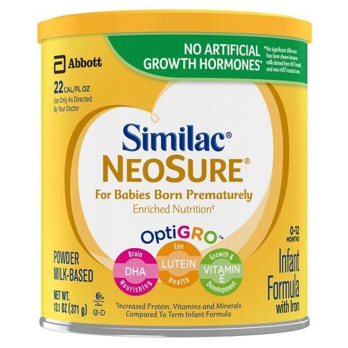 Similac NeoSure Infant Formula with Iron Powder - 13.1oz - image 1 of 4