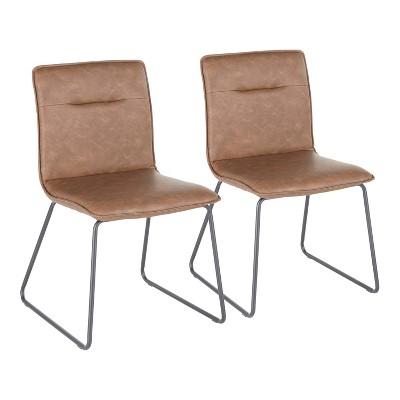 Set of 2 Casper Industrial Chairs - LumiSource