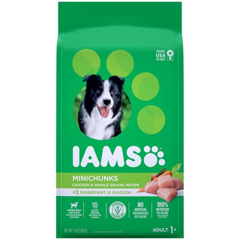 Iams Proactive Health Minichunks Chicken & Whole Grains Recipe Adult Premium Dry Dog Food - image 1 of 4