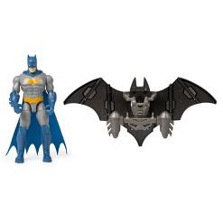 "Batman Mega Gear Deluxe 4"" Action Figure with Transforming Armor"