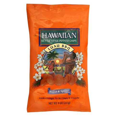 Hawaiian Sweet & Spicy Luau BBQ Flavored Kettle Style Potato Chips - 9oz - image 1 of 1