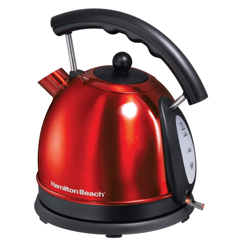 Hamilton Beach 1.7 L. Electric Kettle – Red 40894 11279496