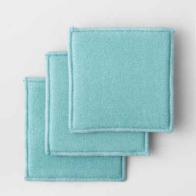 3pk Solid Scrubbies Aqua - Made By Design™