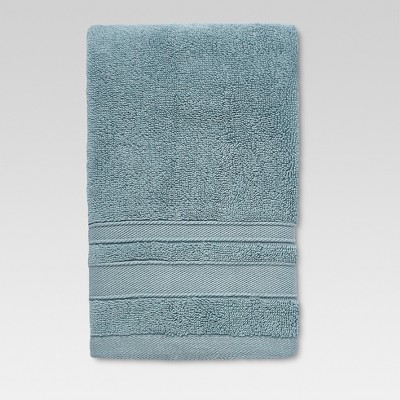 Performance Solid Texture Hand Towel Aqua - Threshold™