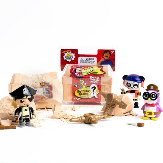 Ryan's World Dig N Discover Treasure Playset image number null