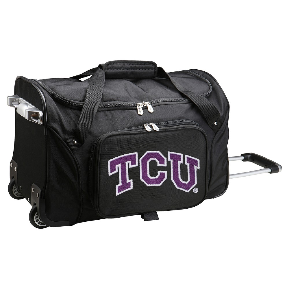 NCAA Tcu Horned Frogs 22'' Rolling Duffel Bag
