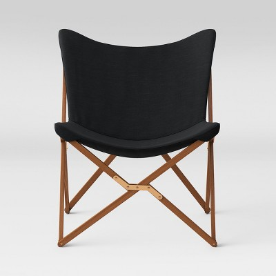Wood Butterfly Chair Black - Room Essentials™