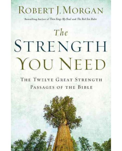 Strength You Need : The Twelve Great Strength Passages of the Bible (Hardcover) (Robert J. Morgan) - image 1 of 1