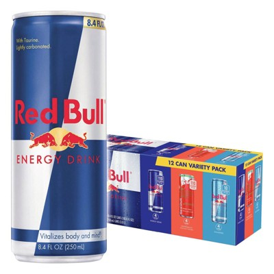 Red Bull Variety Pack Energy Drink - 12pk/8.4 fl oz Cans