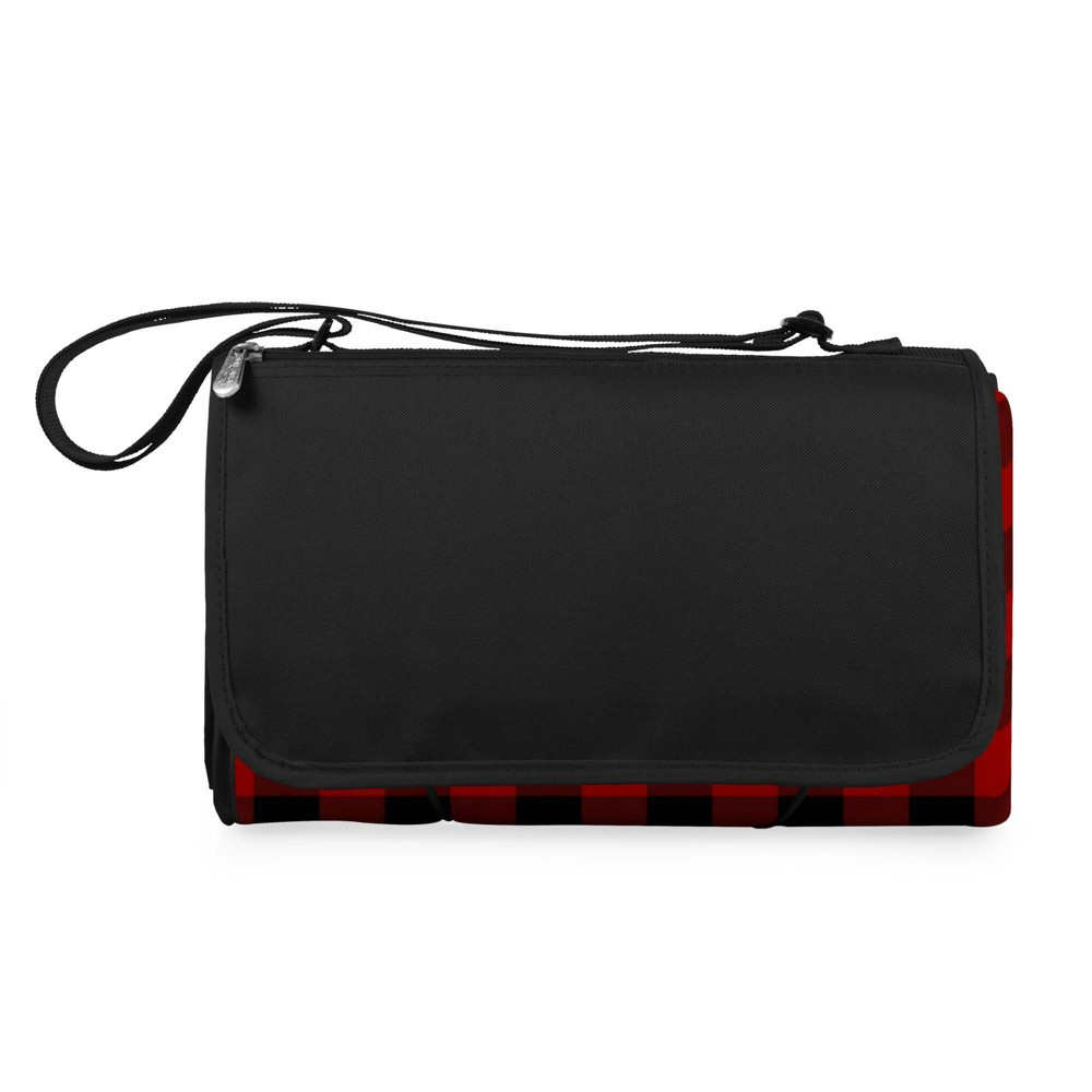 Picnic Time Blanket Tote Outdoor Picnic Blanket Red