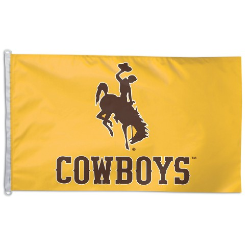 NCAA Wyoming Cowboys 3x5' Flag - image 1 of 1