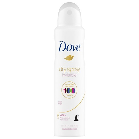Dove Clear Finish 48 Hour Invisible Antiperspirant Deodorant Dry Spray 3 8oz Target
