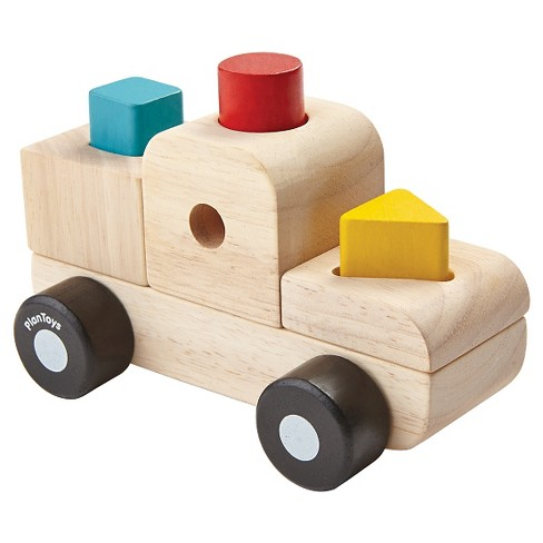 PlanToys Sorting Puzzle Truck - image 1 of 1