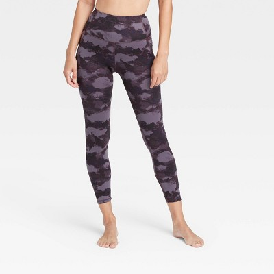 "Women's Contour Power Waist High-Waisted 7/8 Leggings 25"" - All in Motion™"