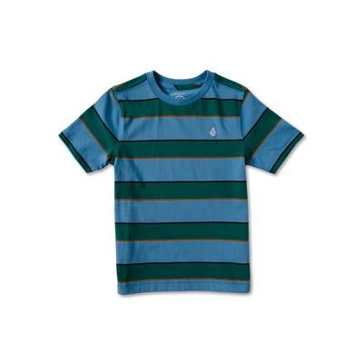 Volcom Todler Boys Keates Stripe Crew Short Sleeve Tee