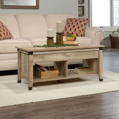 Carson Forge Lift Top Coffee Table Lintel Oak - Sauder