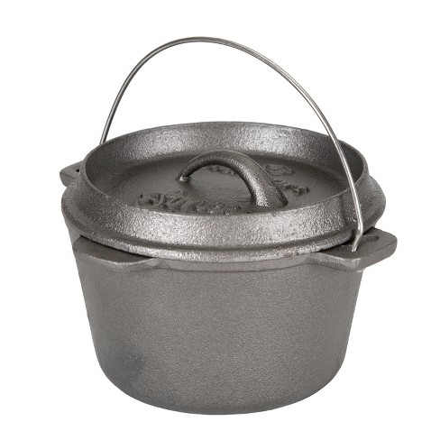 Stansport 1 QT Cast Iron Dutch Oven Without Legs - image 1 of 3