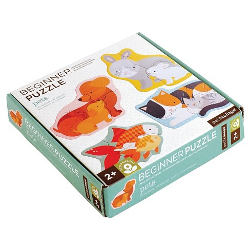 Petit Collage Pets Beginner Puzzle 18pc - image 1 of 2