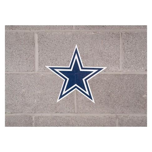 NFL Dallas Cowboys Small Outdoor Logo Decal   Target 68a6da98f