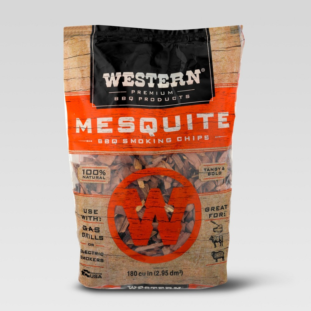 Western Mesquite Bbq Smoking Chips – 2lbs 53864052