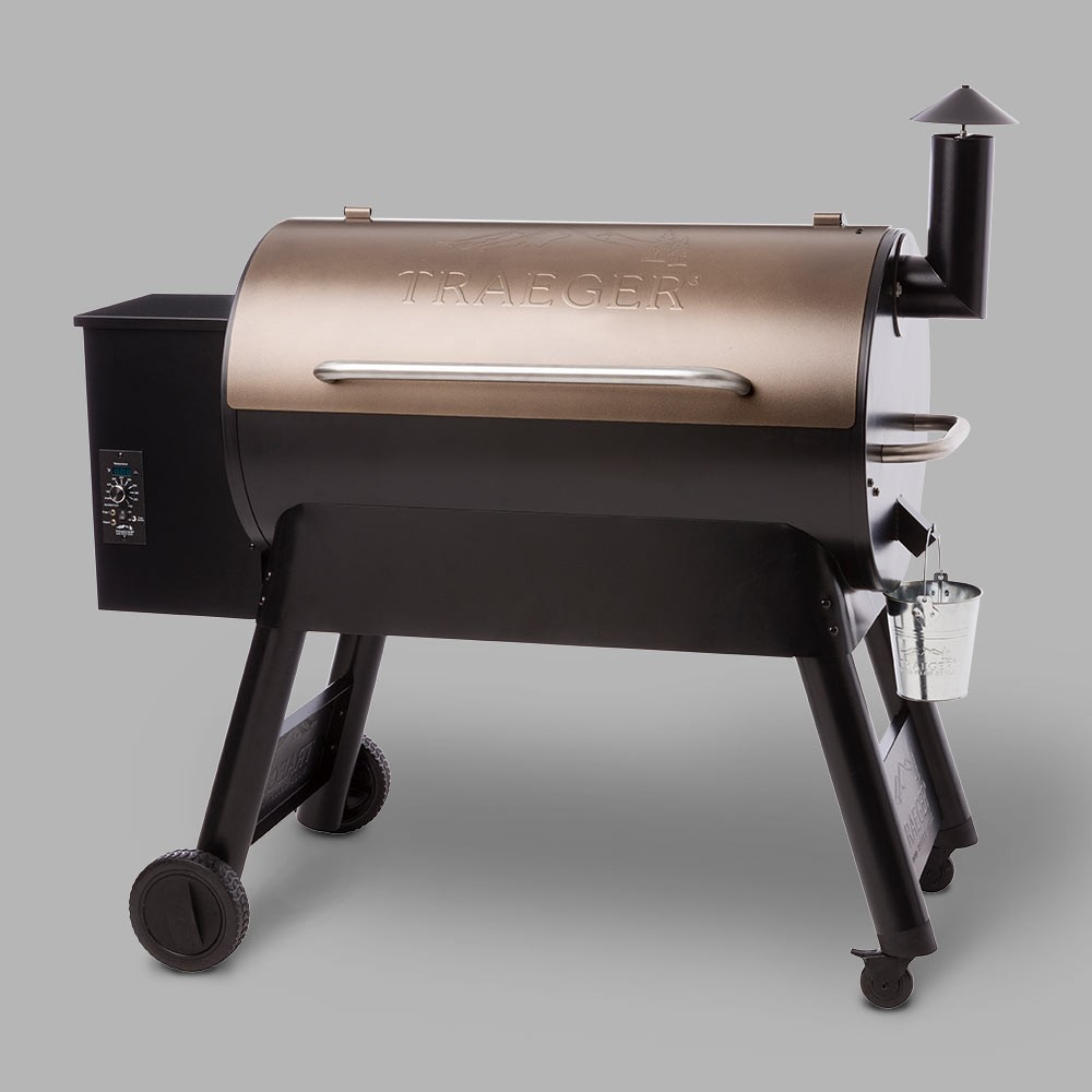 Image of Traeger Pro Series 34 Pellet Grill TFB88PZB - Bronze