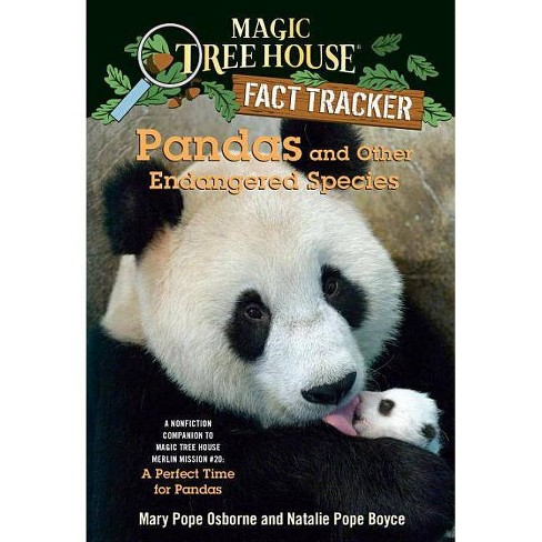 Pandas and Other Endangered Species - (Magic Tree House Fact Tracker) (Paperback) - image 1 of 1