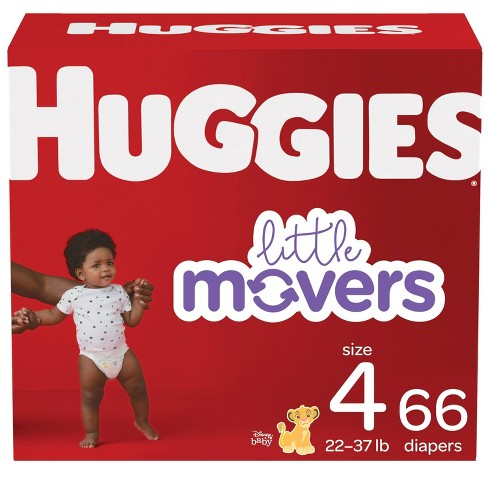 Huggies Little Movers Baby Disposable Diapers - (Select Size and Count) - image 1 of 4