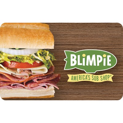 Blimpie Gift Card (Email Delivery)